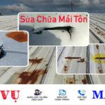 Giá thợ sửa chữa mái tôn thấm dột giá bao nhiêu tiền tại hà nội và tphcm theo m2